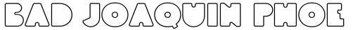 Linotype BlackWhite Outline sample