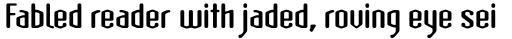 Atomic Sans Bold sample