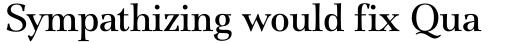 ITC Jamille Book sample