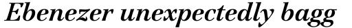 ITC Jamille Bold Italic sample
