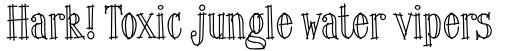 ITC Lingo Regular sample