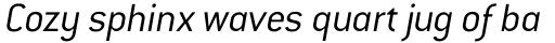 Conduit Light Italic OS sample