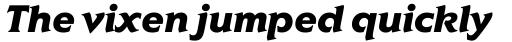 ITC Elan Black Italic sample
