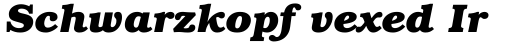 ITC Bookman Bold Italic sample