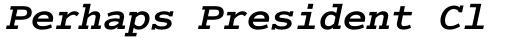 Cumberland Std Bold Italic sample