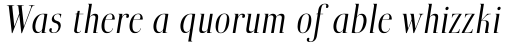 Boberia Com Light Italic sample