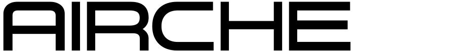 Click to view  Aircheck JNL font, character set and sample text