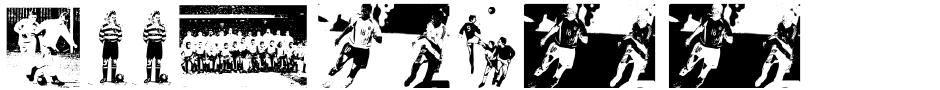 Click to view  Football Passion font, character set and sample text