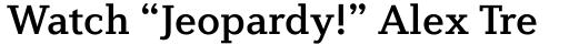 Diverda Serif Std Medium sample