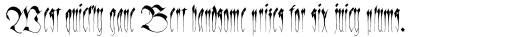 Linotype Sangue Regular sample