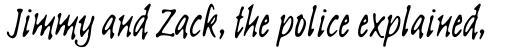 Linotype Sketch Std Regular sample