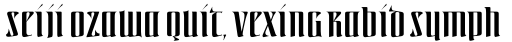 Linotype Irish Text Regular sample
