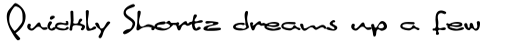 Linotype Inky Script Std Regular sample