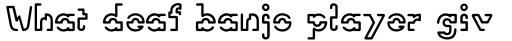 Linotype Vision sample