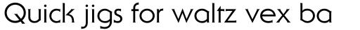 Serif Gothic Roman sample
