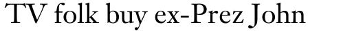 Janson Text Roman sample