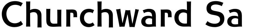 Click to view  Churchward Samoa font, character set and sample text