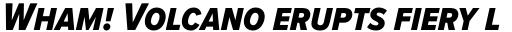 Proxima Nova S Cond ExtraBold Italic sample