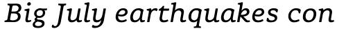 Flembo Text Italic sample
