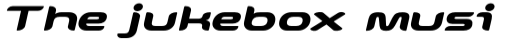 Snowslider Bold Italic sample