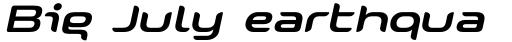 Snowslider Italic sample