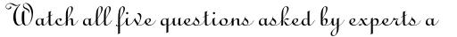 Linoscript sample