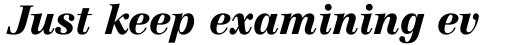 Centennial Black Italic sample