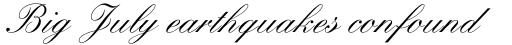 Kuenstler Script Std Medium sample