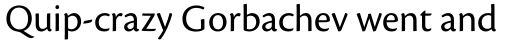 Cronos Pro SubHead sample