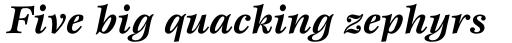 Esprit Std Bold Italic sample