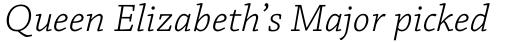 Chaparral Pro Light Italic Caption sample