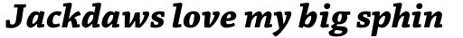 Chaparral Pro Bold Italic Caption sample