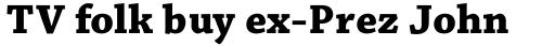 Chaparral Pro Bold Caption sample