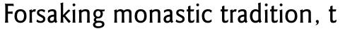 Goudy Sans Std Medium sample