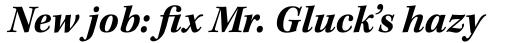 Kepler Std Bold Italic sample