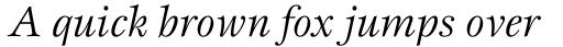 Esprit Std Book Italic sample