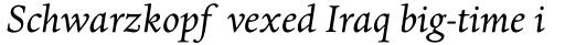 Dante MT Std Italic sample
