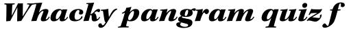 Kepler Std Ext Black Italic sample
