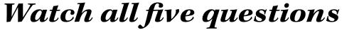 Kepler Std Ext Bold Italic sample