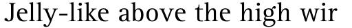 Rotis Serif Std sample