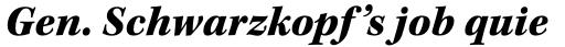 Kepler Std Black Italic sample
