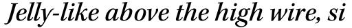 Kepler Std Medium Italic sample