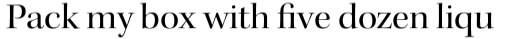 Kepler Std Display Regular sample