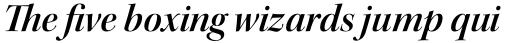 Kepler Std Display SemiBold Italic sample