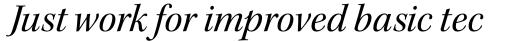 Kepler Std SubHead Italic sample