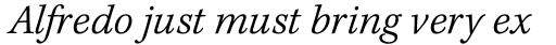 Kepler Std Caption Light Italic sample