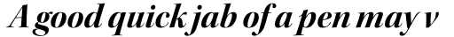 Kepler Std Display Bold Italic sample