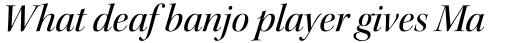 Kepler Std Display Medium Italic sample