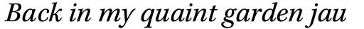 Kepler Std Caption Italic sample