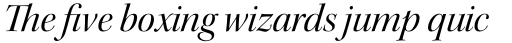 Kepler Std Display Italic sample